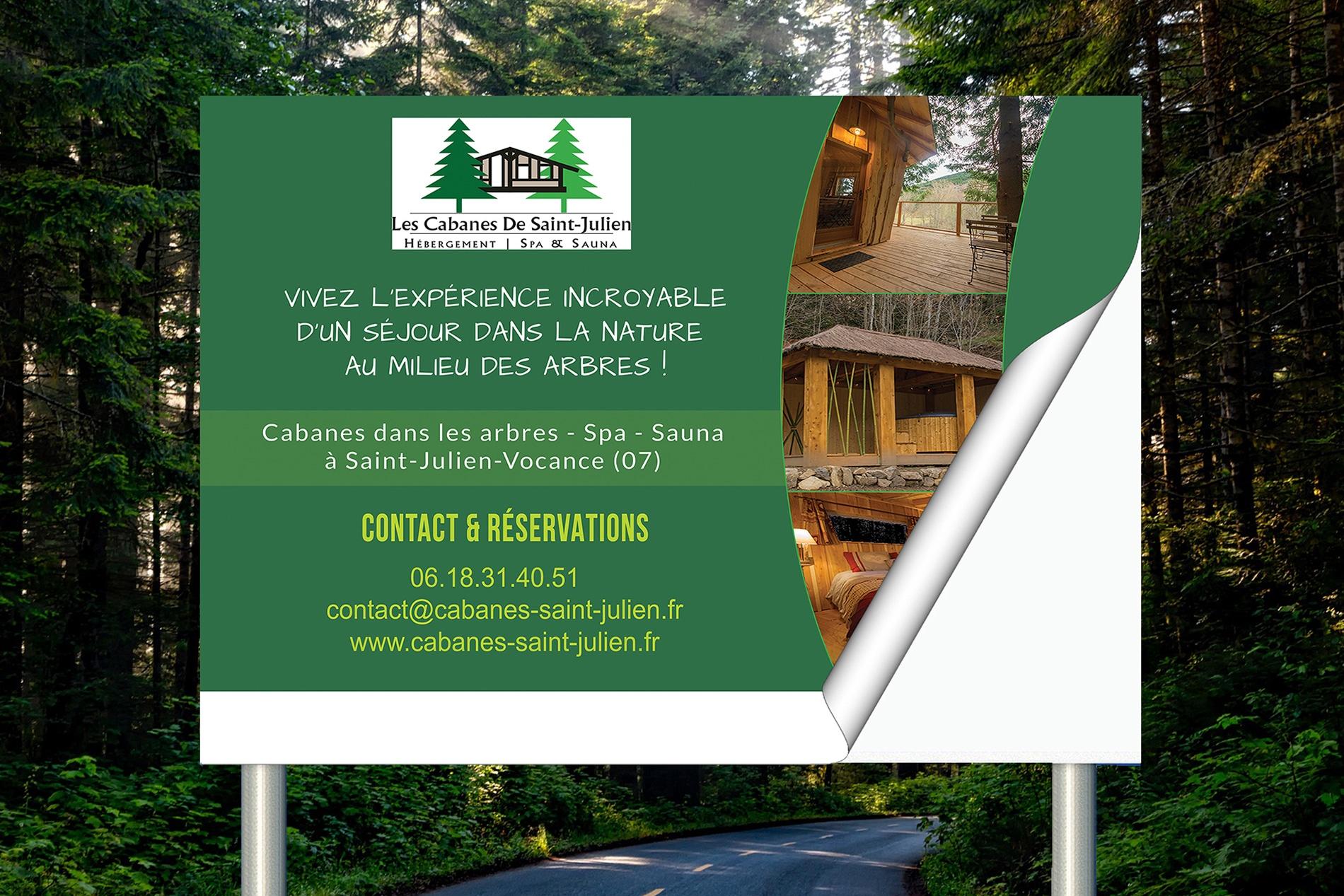 realisation-maquette-stickers-panneaux-cabanes-saint-julien